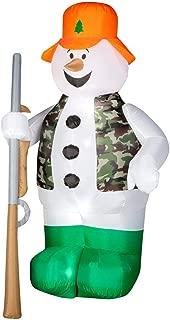 Gemmy Industries 86231 Air Blown Hunter Snowman