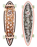 "Santa Cruz Longboard Complete Floral Decay Pintail Brown 9.2"" x 33"""