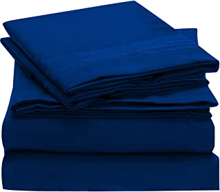 royal blue queen bed sheets