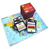 TNT Gaming Company Country Quest: Flag & Country Trivia, Educational Learning Card Game