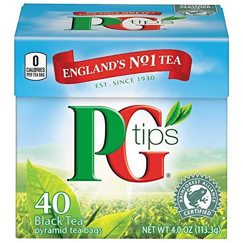 PG Tips Pirámide Infusión Té Negro - 40 bolsitas