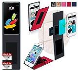 reboon Hülle für LG Stylus 2 (DAB+) Tasche Cover Case Bumper | Rot | Testsieger