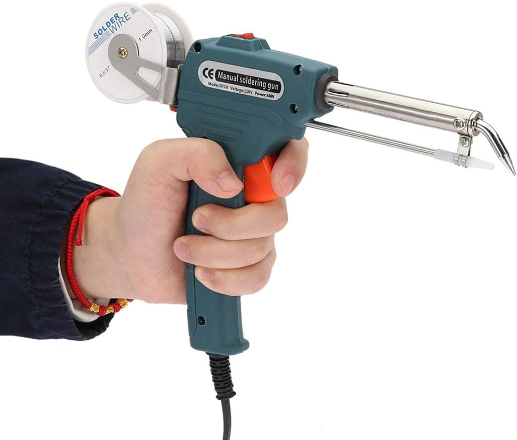 Soldering Gun Popular shop is the lowest price challenge 60W 110V Houston Mall Solder Handh Professional Automatic