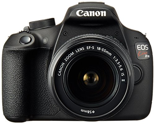 Canon EOS Kiss X70 with EF-S18-55mm F3.5-5.6 IS II - International Version (No Warranty)