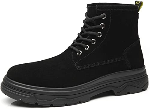 BAACHANG Martin Chaussures Bottes Courtes Hommes Style Britannique Britannique Britannique Rétro Outillage Polyvalent Chaussures pour Hommes a08