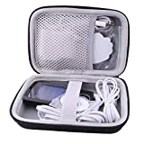 WERJIA Hard Carrying Case for Belifu/AUVON Dual Channel TENS EMS Unit Muscle Massager (Black)