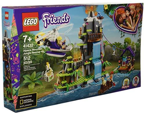 Lego FRIENDS Resgate de Alpaca na Selva da Montanha 41432
