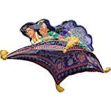 Anagram 42' Aladdin Foil Balloon, Multicolor