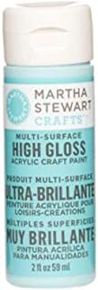 Martha Stewart Crafts Multi-Surface High Gloss Acrylic Craft Paint in Assorted Colors (2-Ounce), 32088 Surf
