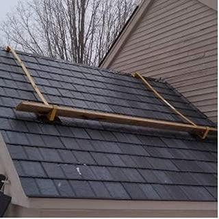 ACRO 19702 Pair of Johnny Jack Roof Brackets for Steel Shingles, Tile & Slate