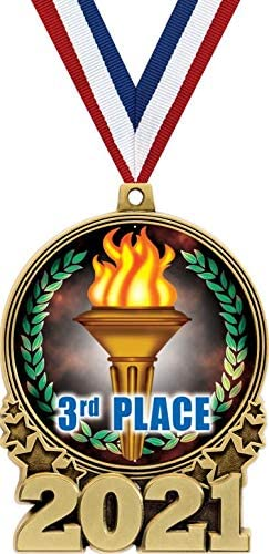 Crown Awards Ranking TOP20 3rd Place Arlington Mall Medal Gold