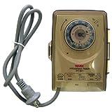リーベックス Revex コンセント タイマー 屋外用 イルミネーション 節電 防犯 プログラムタイマー PT-W1