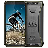 Rugged Unlocked Cell Phones, Blackview BV5500 Plus 4G LTE Rugged Cell Phones with Android 10 IP68 Waterproof Drop Proof, 5.5' Screen 3GB+32GB Dual SIM 4400mAh Battery for GSM T-Mobile, Yellow