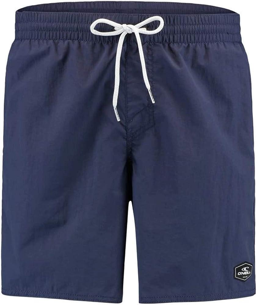 O'NEILL Vert Solid Colour Men's Swim Shorts, Scale Blue