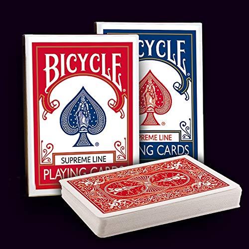 Tavoloverde Carte da Gioco Bicycle Supreme Dorso Rosso