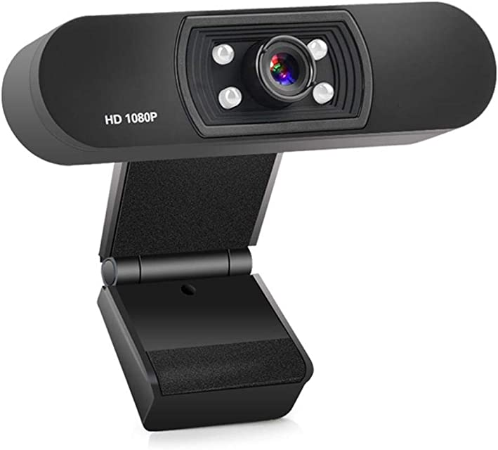 Cámara Para Computadora Full HD 1080P Cámara Web De Transmisión USB Con Micrófono Grabadora De Video Digital USB Cámara Portátil Para Conferencias Video Chat Aprendizaje A Distancia