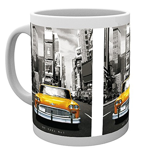 GB Eye Ltd, New York, Taxi No 1, Tazza