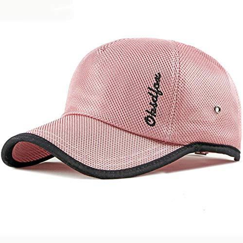 Radsport-Kappen für Jungen in Rosa, Größe 55-60cmadjustable