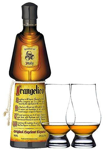Frangelico Haselnuss Likör 0,7 Liter + 2 Glencairn Gläser
