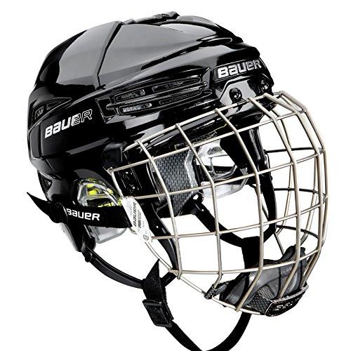 Bauer Reakt 75 Combo Helm, Grösse:L;Farbe:schwarz