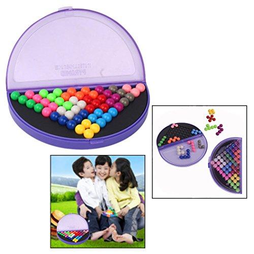 OFKPO Multi-Color IQ Puzzle Blocks para IQ Game Challenge...