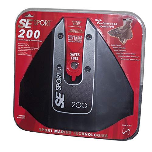 Aleta Estabilizadora SE Sport 200 8-40 CV Negro