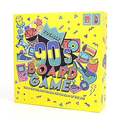 Gift Republic Totally 90's Family Board Game