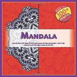 Libro da colorare Mandala 100+ pagine - Finché riesco a passare del tempo con mia moglie e - miei tre figli, a guardare le partite di rugby e a pescare, io sono felice.
