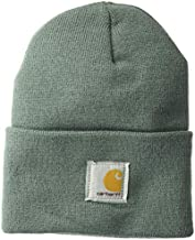 Carhartt Men's A18 Acrylic Watch Hat, Balsam Green, One Size