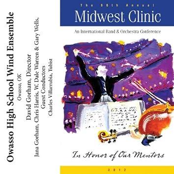 2012 Midwest Clinic: Owasso High School Wind Ensemble