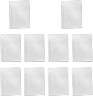 Baoblaze Pack of 10 Fashion New Passport Holder Documents Bag Travel Passport Cover Card