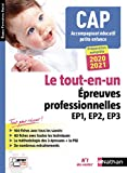 CAP Accompagnant Éducatif Petite enfance Tout-en-un - Épreuves professionnelles - 2020-2021