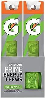 Gatorade Energy Chew Green Apple ~ pack of 4