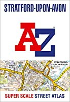 Stratford-upon-Avon and Warwick A-Z Super Scale Street Atlas: A4 Paperback
