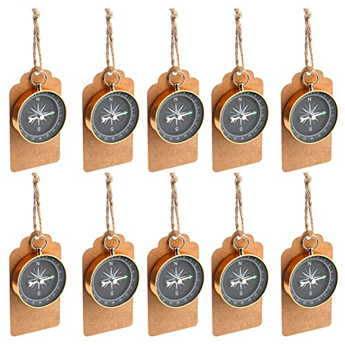 Compass Wedding Favors for Guests