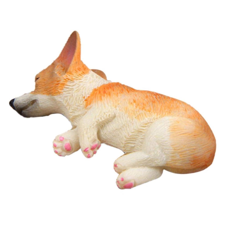 シミュレーション犬 おもちゃ コーギー モデル 超かわいい