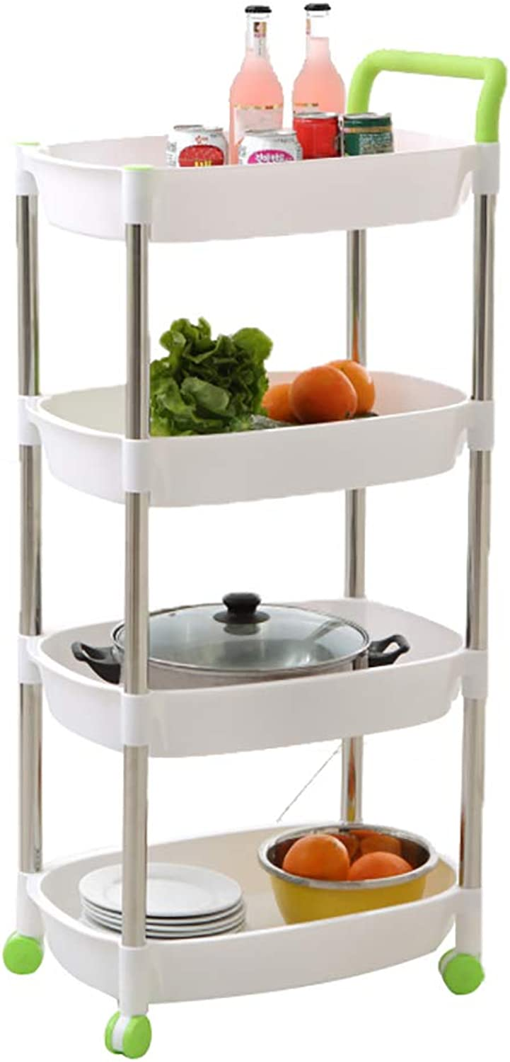 Kitchen Cart, with Wheels for Easy Movement of Stainless Steel