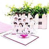 Ailin Online Kpop Treasasure - Figura de equipo para hombre, diseño de muñeca de mesa para casa y of...