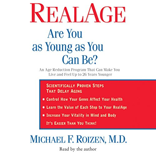 RealAge audiobook cover art