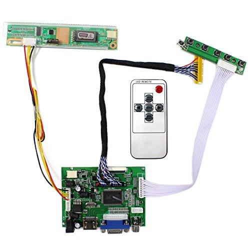 HDMI + VGA + 2AV placa de regulador de LCD de entrada para B154PW01V LP171WP4 Panel LCD de 15.4