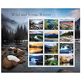 2019 wild and scenic rivers sheet of 12 us forever first class postage stamps scott 5381 1 2019 wild and scenic rivers sheet of 12 forever postage stamps scott 5381