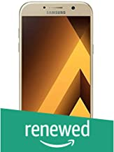 (Renewed) Samsung Galaxy A7 2017 (Gold Sand, 3GB/32GB)