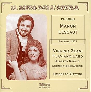 Il mito dell'opera: Manon Lescaut (Live)