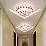 Meetyou LED Crystal Deckenleuchte Korridor Lichter Concealer Aisle Schlafzimmer Schnittbeleuchtung Moderne Minimalistische Wohnzimmer Beleuchtung