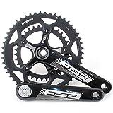 FSA Gossamer BBright Road/Triathlon Bike Crankset 50/34 10/11 Speed 170mm//Black