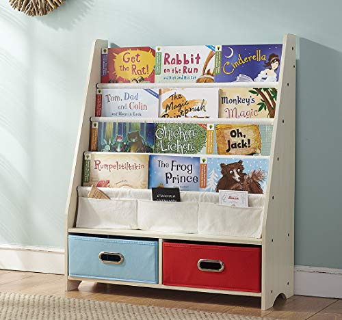 SEIRIONE Kids Book Rack Bookshelf