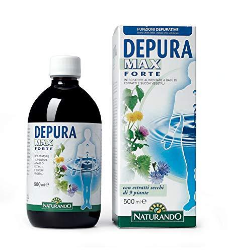 Naturando Depura Max Forte 500 ML. Depurativo drenante per l eliminazione delle tossine nel corpo