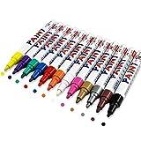 Ciaoed Metallic Marker Pens Permanent Marker Lackmarker von 12 Farben für Kartenherstellung DIY...