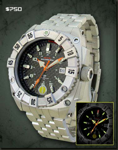MTM Special Ops Mens Warrior Titanium Watch -...