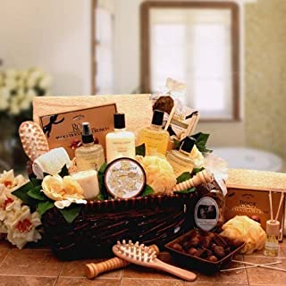 Vanilla Therapy Bath and Body Spa Basket for Women - Makes a Great Holiday Gift
